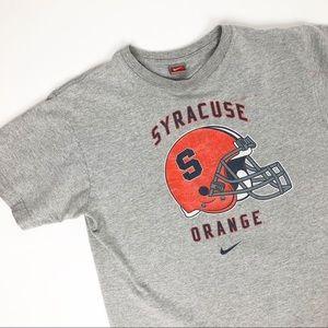 Syracuse Orange Football Tee Shirt Vintage